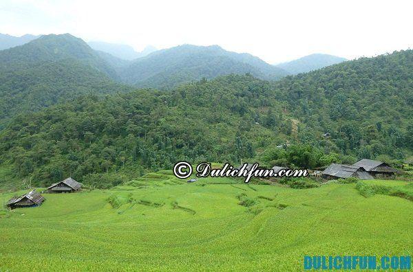 Kinh nghiệm du lịch bản làng ở Sapa. Du lịch Sapa nên thăm bản làng nào?