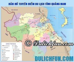 Những địa điểm du lịch đẹp, nổi tiếng ở Quảng Nam phải tới