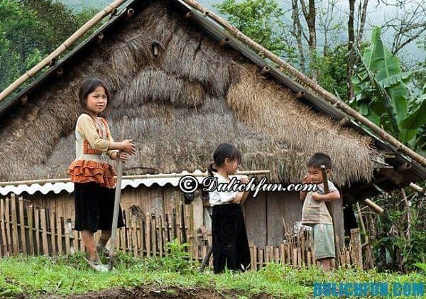 Kinh nghiệm du lịch bản làng ở Sapa. Bản làng đẹp nhất ở Sapa
