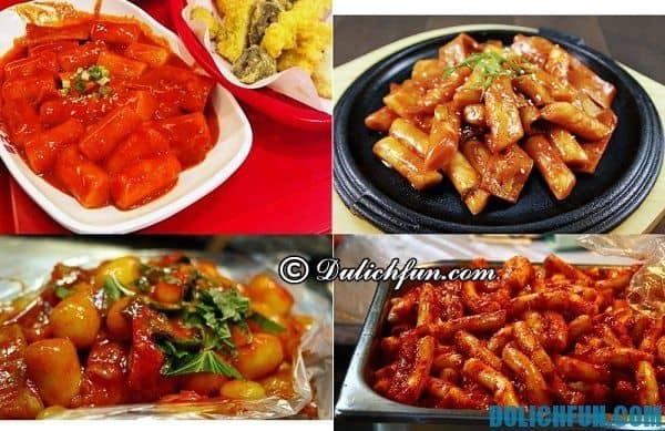 Du lịch Hàn Quốc ăn gì ngon? Món ngon, ẩm thực Hàn Quốc. Món ăn đường phố nổi tiếng ở Hàn Quốc