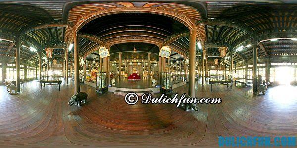 Bảo tàng mỹ thuật cung đình Huế - nơi tham quan du lịch nổi tiếng ở Huế. Địa điểm vui chơi hấp dẫn ở Huế