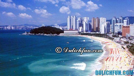 Kinh nghiệm du lịch Busan: Biển Haeundae, địa điểm tham quan du lịch đẹp, nổi tiếng ở Busan, Hàn Quốc