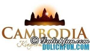 Du lịch Campuchia. Kinh nghiệm mua sắm ở Campuchia