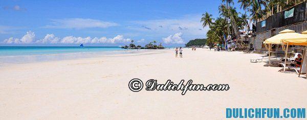Boracay, địa điểm du lịch nổi tiếng, đẹp ở Philippines, địa điểm vui chơi thú vị ở Philippines