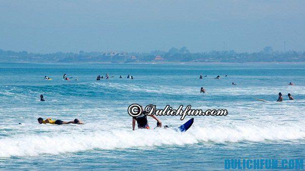 Top những địa điểm du lịch nên tới ở Bali: Bãi biển đẹp ở Bali