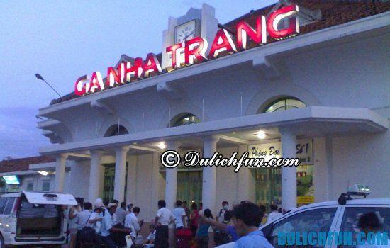 Phương tiện đi du lịch Nha Trang? Hướng dẫn cách đi du lịch Nha Trang bằng tàu hỏa.