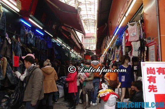 Địa chỉ mua sắm giá rẻ, chất lượng ở Quảng Châu. Kinh nghiệm mua sắm ở Quảng Châu