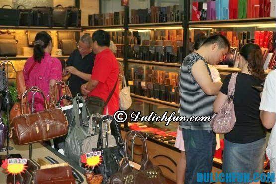 Địa chỉ mua sắm ở Quảng Châu Trung Quốc