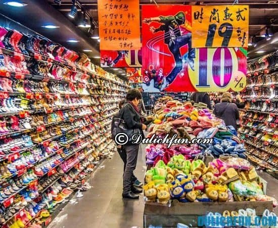 Những khu chợ ở Quảng Châu. Địa chỉ mua sắm ở Quảng Châu - Du lịch Quảng Châu mua sắm ở đâu?