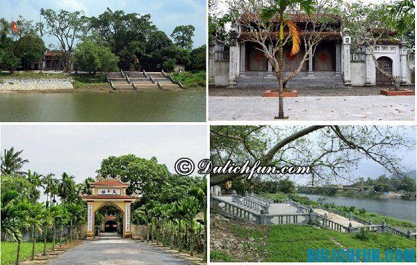 Địa điểm du lịch nổi tiếng ở Hà Nam