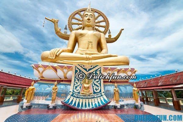 Chùa Big Budha trên đảo Koh Samui, kinh nghiệm du lịch đảo Koh Samui Thái Lan đầy đủ nhất