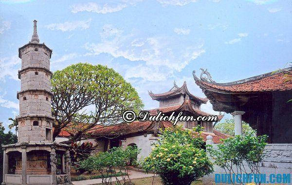 Địa điểm du lịch Bắc Ninh cổ kính, nổi tiếng. Địa điểm du lịch tâm linh ở Bắc Ninh