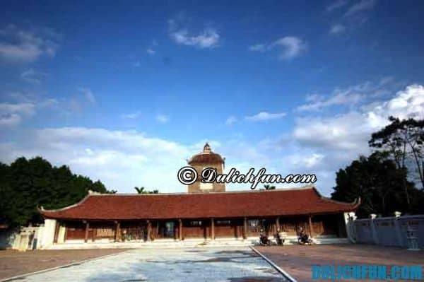 Địa điểm du lịch đẹp ở Bắc Ninh. Đến Bắc Ninh nên vui chơi ở đâu?