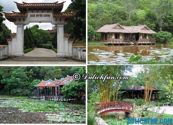 Chùa Huyền Không, ngôi chùa cổ kính ở Huế. Nơi thờ cúng, lễ phật linh thiêng ở Huế