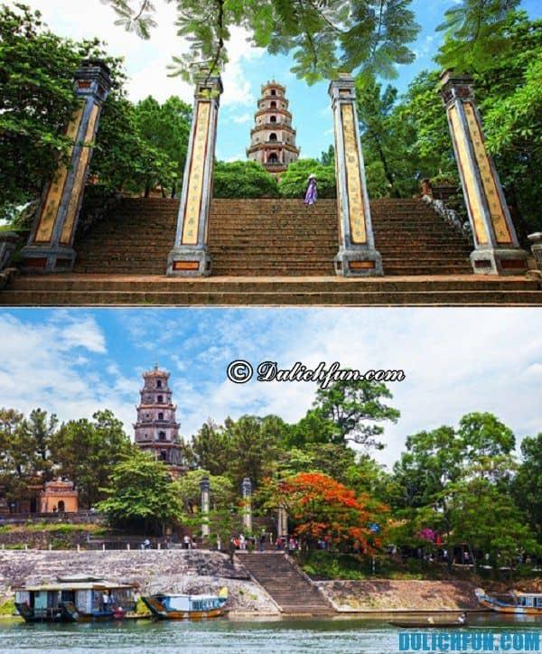Chùa cổ nhất ở Huế. Ngôi chùa linh thiêng nhất ở Huế - Chùa Thiên Mụ