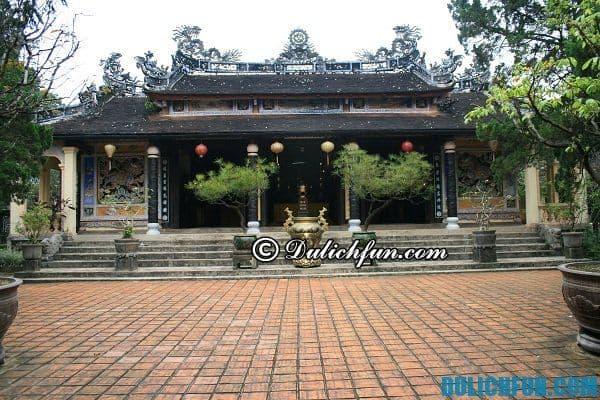 Chùa Từ Hiếu, ngôi chùa cổ kính linh thiêng ở Huế, những ngôi chùa đẹp ở Huế
