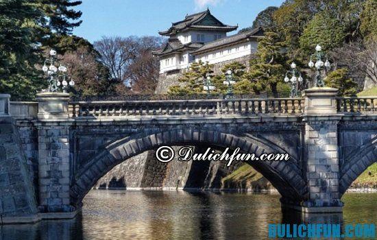 Cung điện hoàng gia Tokyo, điểm tham quan du lịch đẹp, nổi tiếng ở Tokyo