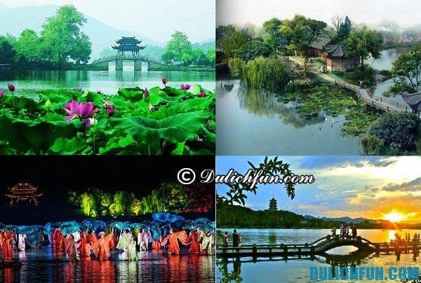 Kinh nghiệm du lịch Hàng Châu. Điểm tham quan đẹp nổi tiếng ở Hàng Châu