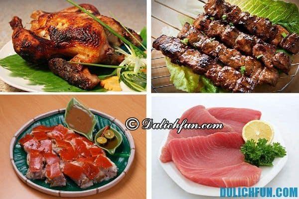 Đặc sản ở Cebu, món ăn ngon nổi tiếng ở Cebu, Philippines. Kinh nghiệm du lịch Cebu, Philippines thuận tiện, vui vẻ.