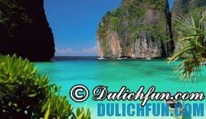 Đảo Ko Phi Phi, hòn ngọc ở Thái Lan- Hòn đảo đẹp nổi tiếng ở Thái Lan