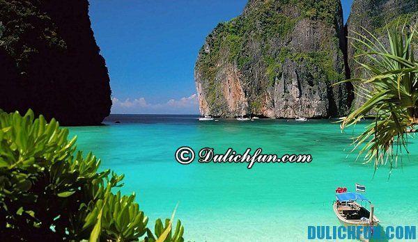 Đảo Ko Phi Phi - Hòn đảo đẹp nổi tiếng ở Thái Lan