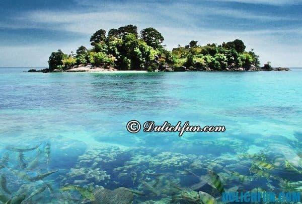 Những hòn đảo nổi tiếng đẹp hấp dẫn ở Thái Lan