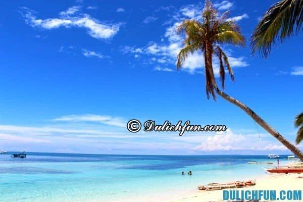Đảo Malapascua xinh đẹp- địa điểm du lịch hot ở Philippines, địa danh du lịch đẹp ở Philippines