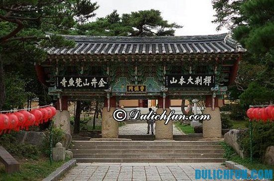 Đền Beomeosa, địa điểm thăm quan du lịch nổi tiếng ở Busan không thể bỏ lỡ