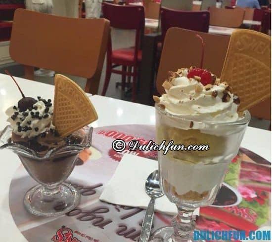 Địa chỉ ăn kem ở Hà Nội nổi tiếng thơm ngon