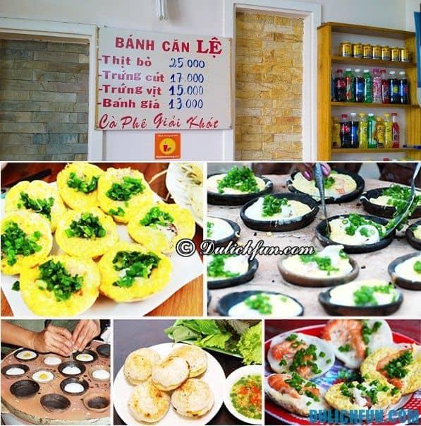 Điểm ăn uống hấp dẫn nhất Đà Lạt. Quán ăn, nhà hàng nổi tiếng giá rẻ ở Đà Lạt