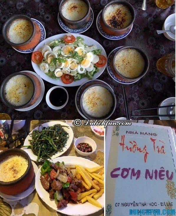 Ăn uống ở đâu Đà Lạt vừa ngon vừa rẻ. Địa chỉ thưởng thức ẩm thực Đà Lạt