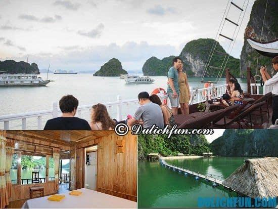 Địa chỉ các khách sạn ở Tuần Châu giá rẻ, tiện nghi đầy đủ: du thuyền chất lượng tốt ở Tuần Châu