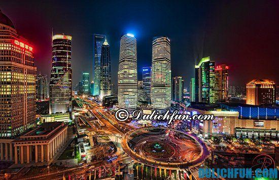 Những địa điểm mua sắm nổi tiếng ở Thượng Hải cho khách du lịch
