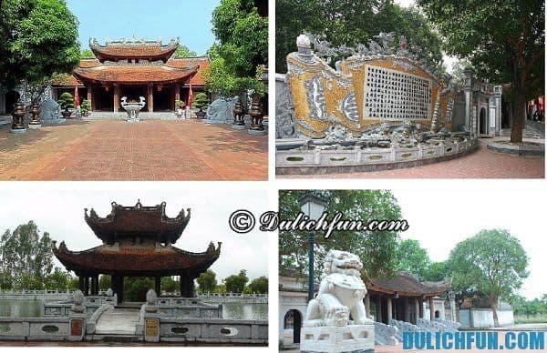 Địa điểm du lịch Bắc Ninh đẹp hấp dẫn- Địa danh đẹp Bắc Ninh, đền Đô