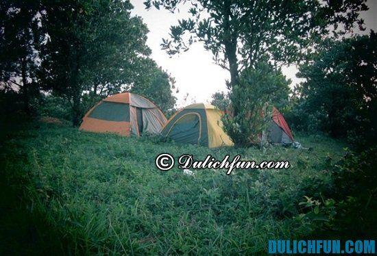 Núi Hàm Lợn, địa điểm cắm trại dã ngoại thú vị ở Hà Nội. Khám phá những điểm cắm trại nổi tiếng ở Hà Nội