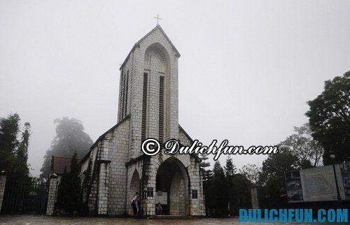 Nhà thờ cổ sapa. Điểm du lịch ở sapa đẹp, độc đáo không thể bỏ qua