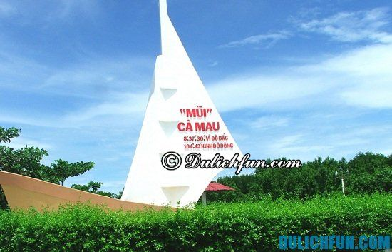 Địa điểm du lịch nổi tiếng ở Cà Mau