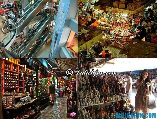 Địa chỉ mua sắm ở Campuchia chất lượng, giá rẻ. Kinh nghiệm mua sắm ở Campuchia. Du lịch Campuchia nên mua gì, mua ở đâu?