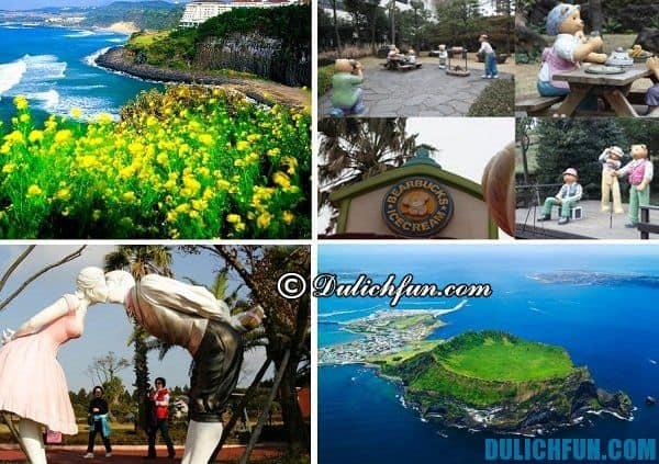 Hướng dẫn du lịch đảo Jeju - điểm đến nổi tiếng