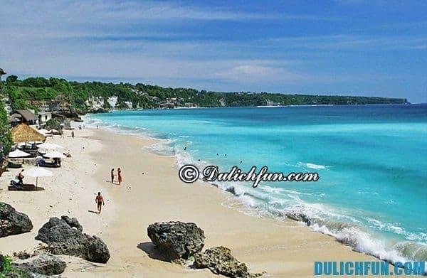 Những bãi biển đẹp nhất Bali. Điểm tham quan nổi tiếng Bali. Cẩm nang du lịch Bali