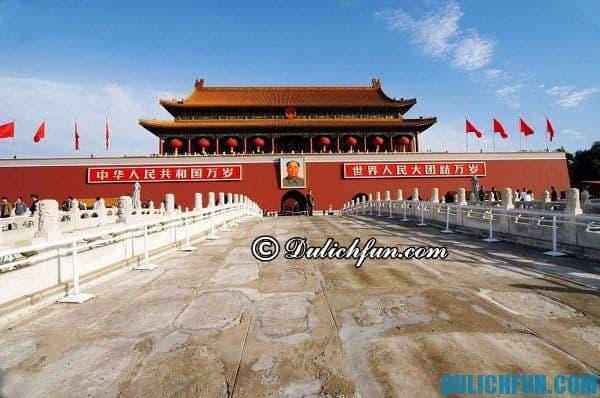 Kinh nghiệm du lịch Bắc Kinh. Bắc Kinh có gì đẹp? Điểm du lịch nổi tiếng ở Bắc Kinh
