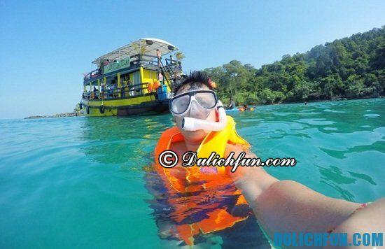 Điểm thăm quan ngắm cảnh đẹp nhất Koh Rong Samloem. Kinh nghiệm du lịch Koh Rong Samloem bạn nên biết