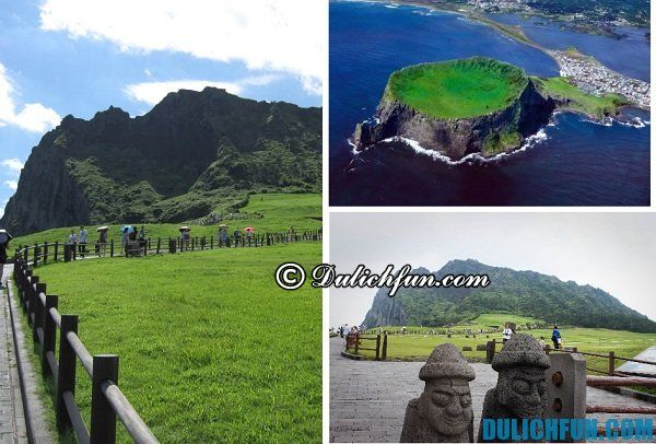 Địa danh hấp dẫn ở Jeju: Du lịch đảo Jeju nên đi đâu chơi? Địa điểm du lịch nổi tiếng ở đảo Jeju