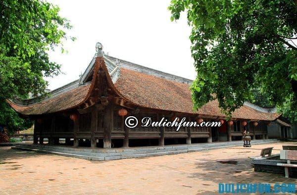 Đình làng Đình Bảng, địa điểm du lịch hấp dẫn ở Bắc Ninh, đi đâu chơi vui khi du lịch Bắc Ninh, địa điểm vui chơi vui vẻ ở Bắc Ninh
