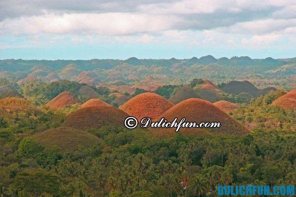 Đồi Chocolate- địa điểm du lịch nổi tiếng ở Philippines, địa danh du lịch đẹp ở Philippines