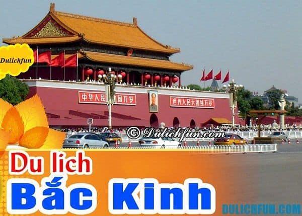 Địa điểm ăn uống ngon rẻ ở Bắc Kinh