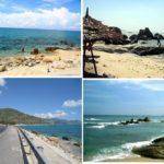 Kinh nghiệm du lịch biển Cà Ná, du lịch biển Cà Ná nên thơ, trữ tình với biển xanh, bãi cát trắng mịn