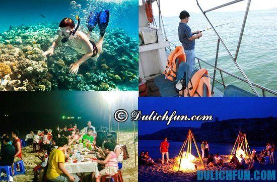 Kinh nghiệm du lịch đảo Cồn Cỏ: Hoạt động du lịch hấp dẫn ở đảo Cồn Cỏ: tư ăn uống, vui chơi, ngủ nghỉ khi đi du lịch Cồn Cỏ