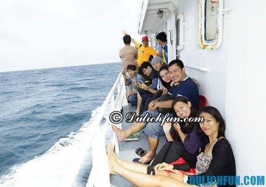 Hướng dẫn mua vé tàu đi du lịch đảo Phú Quý