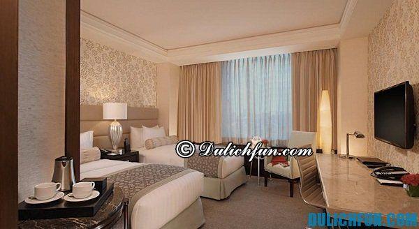 Khách sạn cao cấp ở Manila- Kinh nghiệm du lịch Manila chi tiết. Hướng dẫn và tư vấn du lịch Manila